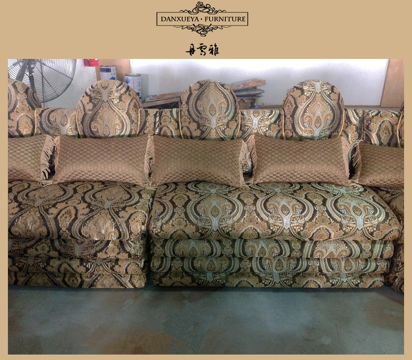 Saudi Arabic Dubai Style U Shape Luxury Fabric Sofa Sets Salon Sofa Sets Buy Used Luxury Sofa