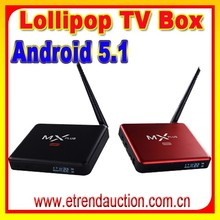KODI Fully loaded MiniMX Android 5.1 Amlogic S905 Quad-Core Smart TV Box 4k free android download google play store mx tv box