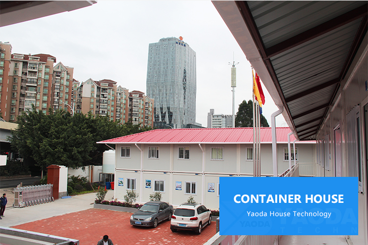 Comfortabele woonkamer container living eenheden prefab container huis cabine modulaire