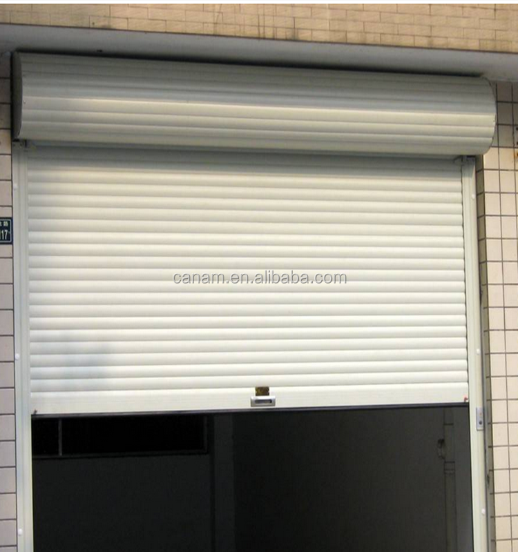 Industrial shutter type insulated roll-up doors