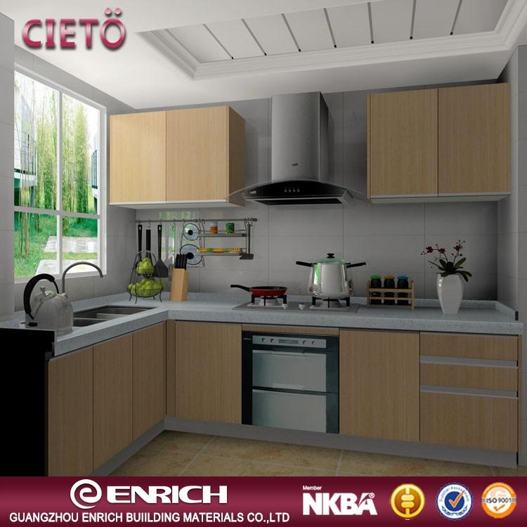 China Manufacturer Melamine Kitchen Cabinet Door Melamine ...
