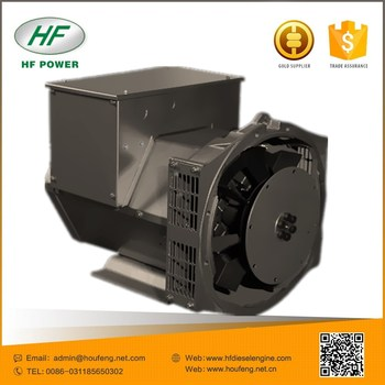 6.5 to 2232 kW Brushless excitation low rpm generator alternator