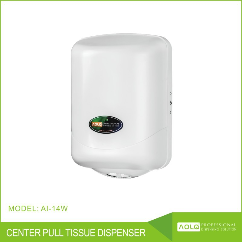 Center pull tissue dispenser/Jumbo roll paper holder/wet tissue dispenser