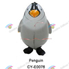 Inflatable Walking pet balloons toys helium airwalker balloons foil walking Penguin balloons