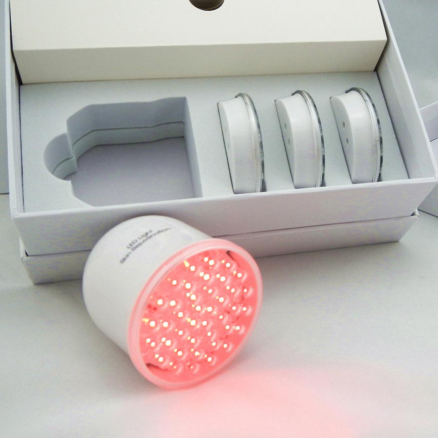 led photon therapy skin rejuvenation beauty machine with interchangeable led heads