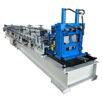 Trade Assurance Hydraulic Model Change C&Z Purlin Roll Forming Machine For Hot Sale