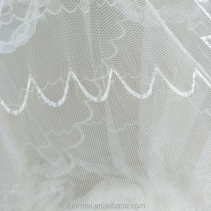 Conical mosquito net jacquard fabric