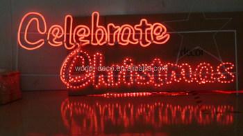 Christmas Wall Mount Led Light / Street Hanging Christmas Light ...