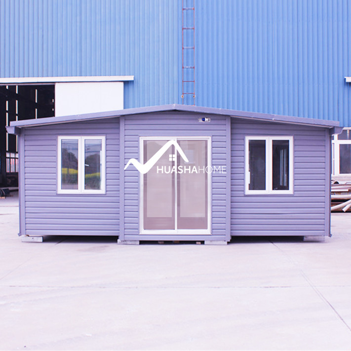 Fashionable movable prefab expandable container house