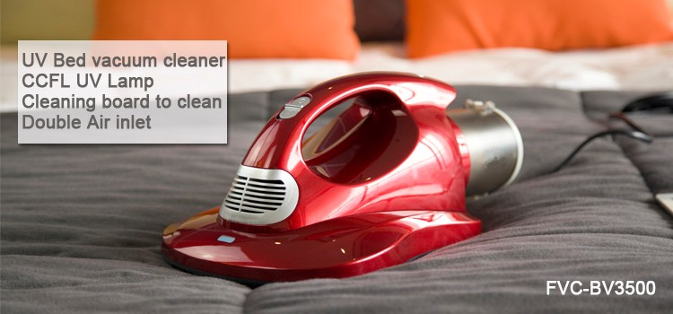 Cordless sterilization bed vacuum cleaner to kill the dust mites on sofa