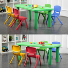 Set Furniture Sets Children Table And Chair Set Portable Saving Space Collapsible Waterproof Safety Folding Kids Table And Chair Set Children Furniture Sets