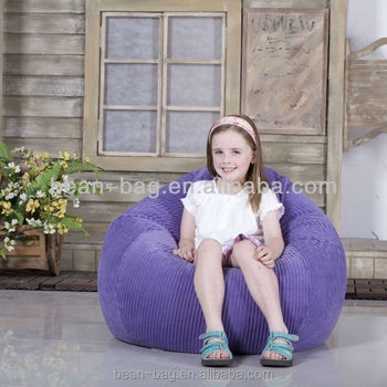 Kids Tear Drop Bean Bag Sofa Chair Wholesale Manufacturer