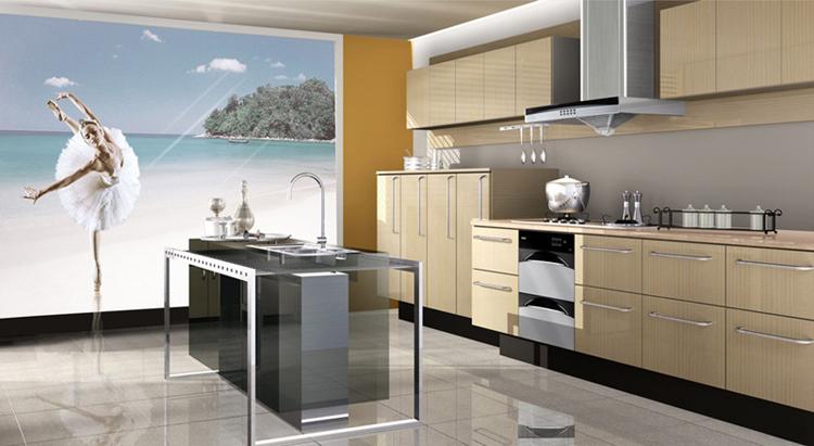 Oem Modular Kitchen Latest Design For Melamine Cabinet Kitchen Cabinet Cad Drawings Buy