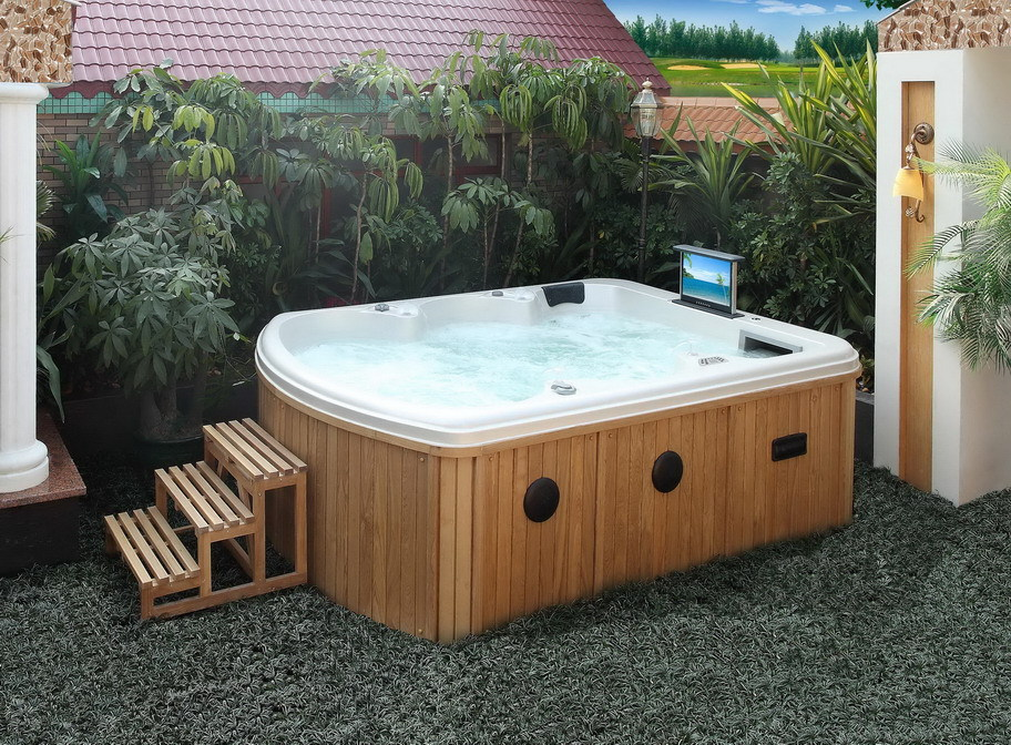 spa 390y 6 whirlpool acrylic outdoor 6m outdoor swim tub 6 person hot tub dimensions view. Black Bedroom Furniture Sets. Home Design Ideas