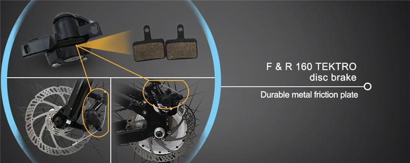 27ความเร็ว36โวลต์250วัตต์มอเตอร์eecพับจักรยานเสือภูเขาไฟฟ้า