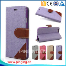 for ZTE Blade A1 case , new product woven pattern pu leather case for ZTE Blade A1