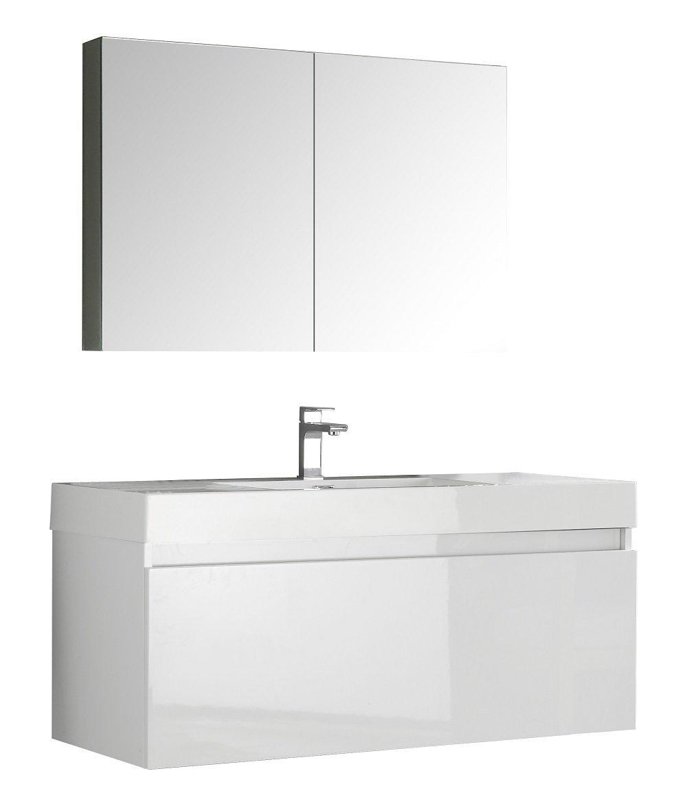 bathroom vanities albany ny. Fresca Mezzo 48\ Bathroom Vanities Albany Ny