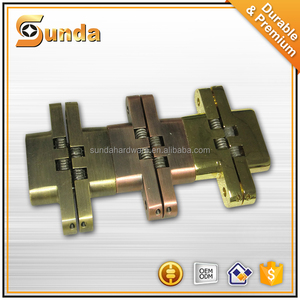 Stainless Steel 304 Invisible Hinges Wooden Door zinc alloy Concealed Cabinet Hidden Hinges
