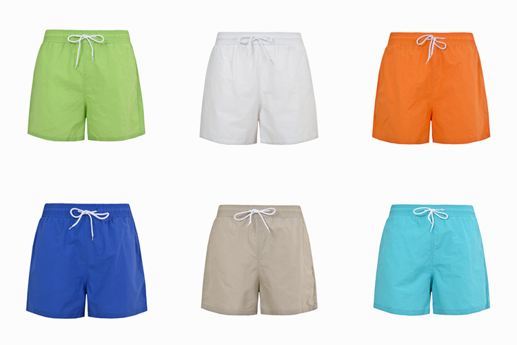 Quick dry men beach shorts 100% polyester 4 Way Stretch man short beach