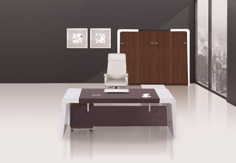 2015 Gloss White Modern Furniture Office Table Design Photolatest
