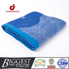woven disposable picnic or airline blanket