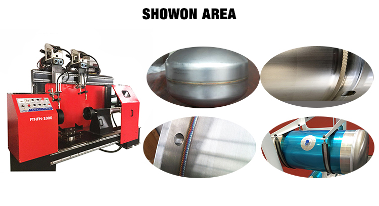 Qualities product stainless steel portable MIG TIG ARC RING circular rolling seam welding machine