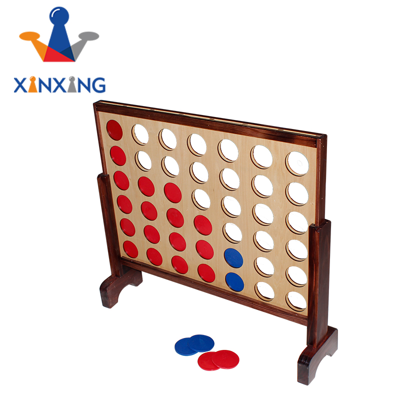 giant wood connect 4 four in a row yard game children outdoor games