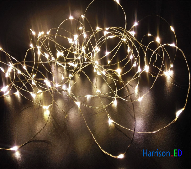 Mini Star String Lights : Warm White Ultra Thin Invisible Silver Copper Wire Led Starry Fairy Star String Lights With ...