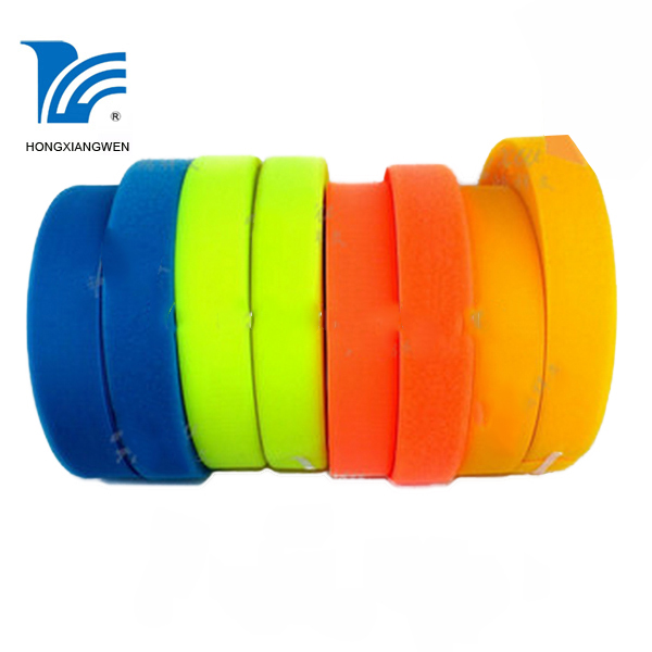 Double sided foam tape hook and loop male and female side