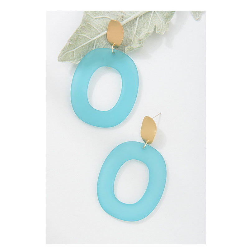 Plastic Simple Earrings For Women Bohemian New Model Earrings