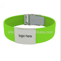 Wholesale custom cheap eco-friendly promotional silicone rubber bracelet