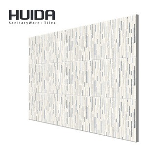 HUIDA sanitary ware white bule grey color 300*600mm wall tile kitchen tile bathroom tile QPYW06105H