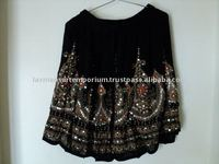 ethnic embroidery ladies skirts new model 2014