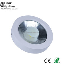 30W Round Glass Surface Mounted Led Ceiling Panel Light