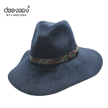 8035a9561873 high quality winter fedora hats women fedora hat wide brim ball hats for men