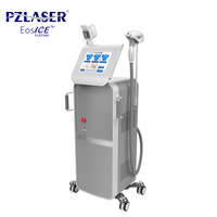 PZ Laser Medical CE Approved 3 wavelength 755nm 808nm 1064nm diode laser hair removal beauty machines with Germany laser
