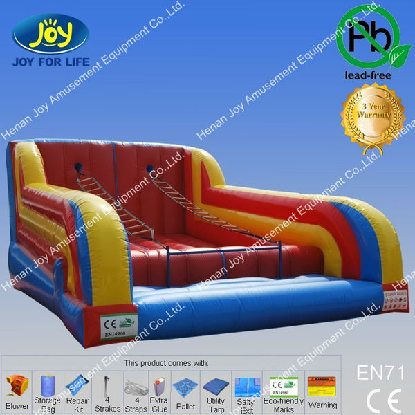 hot selling inflatable ladder climbing game/inflatable rope ladder/inflatable ladder climbing