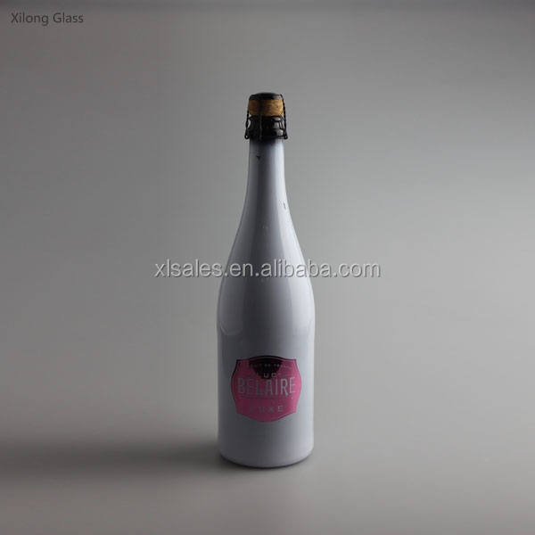 SPRAY PAINT WHOLESALE 350ML WINE WOOD CORK GLASS BOTTLE