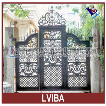 Wrought Iron Gate Usde For Villa And Garden U0026 Modern Gate Designs For Homes