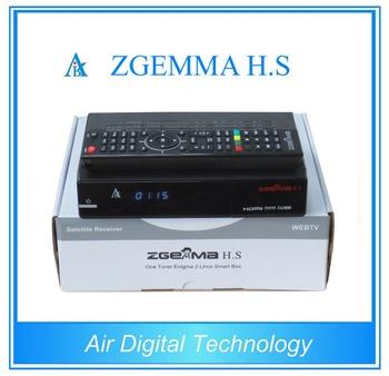 Fta Software Upgrade Digital Satellite Tv Receiver Zgemma H s Dvb-s2 Linux  Hd Satellite Receiver - Buy Zgemma H s,Best Linux Satellite
