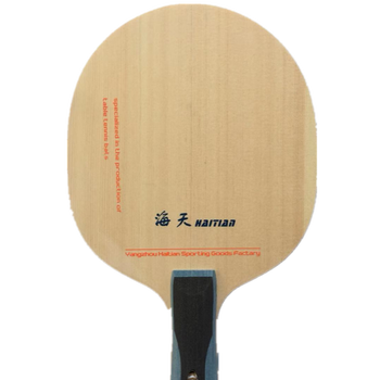 high quality table tennis wood blade with carbon
