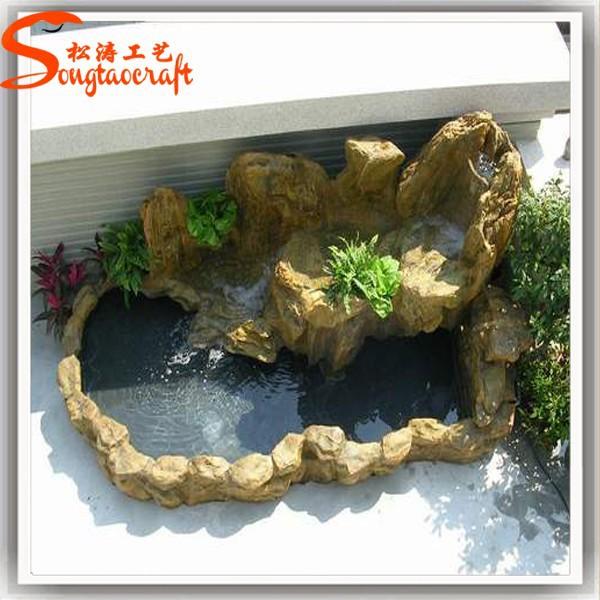guangzhou hersteller fiberglas kunstfelsen mini Wasserfall ...