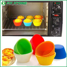 Colorful food grade round shape muffin cup cake,molds for cake,cookie mold