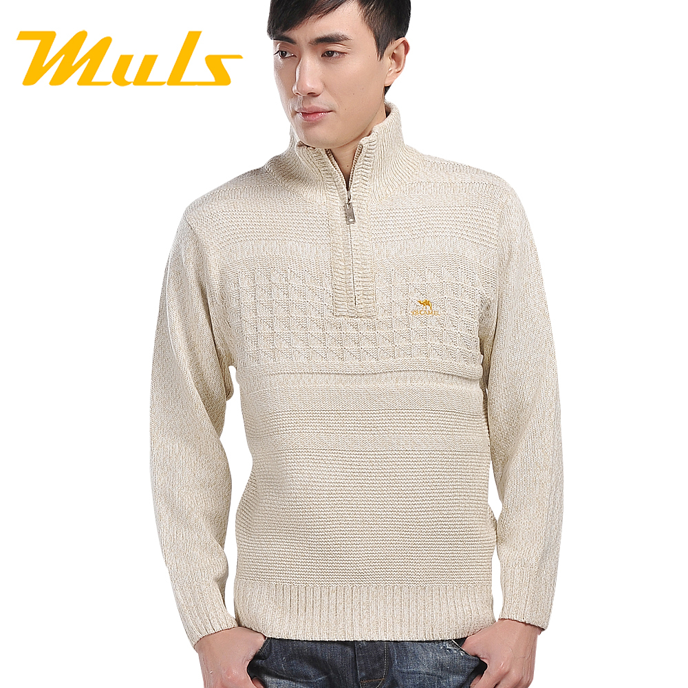 Cashmere polo men truien winter sweater shirt turtleneck long sleeve Casual Pullovers Knitted sweater man sweaters outdoors male