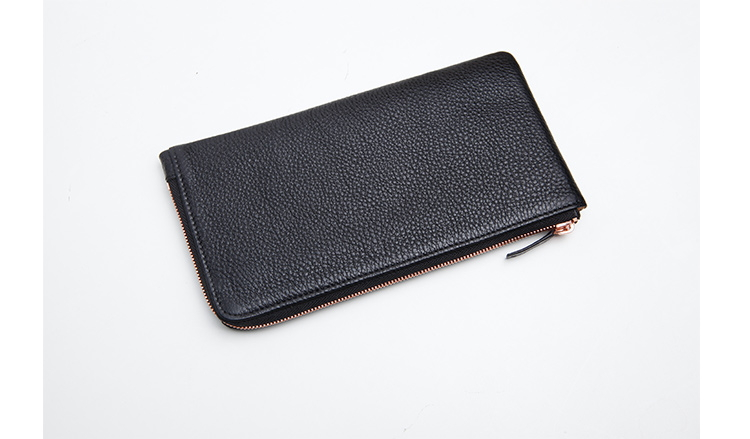 Private label mobile phone genuine leather wallet for iPhone 7 woman wallet