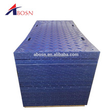 Safe plastic road snowmobile trailer mats hdpe access mat ground construction mats with Christmas discount