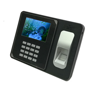 Inbuilt Battery TFT Screen TCP/IP 3000 Fingerprint Capacity Wifi Biometric best selling time attendance With SDK