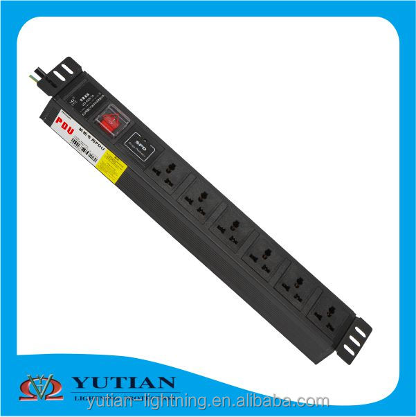 Industrial rack type 4 pin 6pin 8pin wall socket