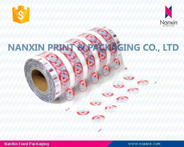 Peelable film for PET/PP plastic cup sealing packaging