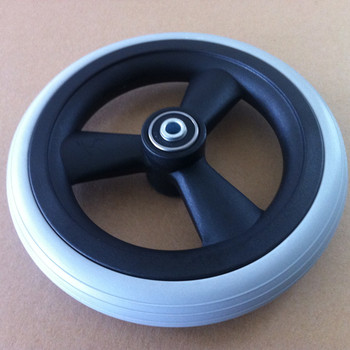 Cheap Price Polyurethane Material Solid PU Foam Wheel for Global Market